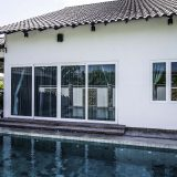 Aluminium doors are weather resistant under a range of harsh environmental conditions.