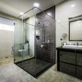 Complete flexibility in designing the size of your shower space.